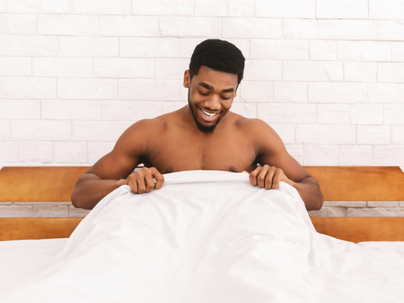 Man happy with erectile dysfunction treatment results